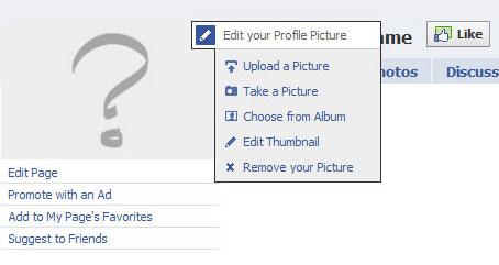 facebook edit profile picture