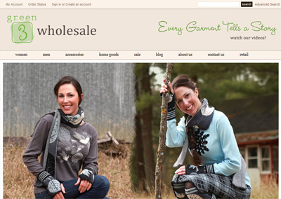 Apparel eCommerce Website