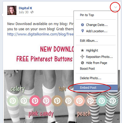 How to Embed Facebook Posts on Your Website or Blog