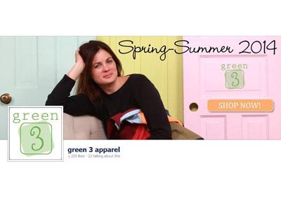 Green 3 Facebook Branding