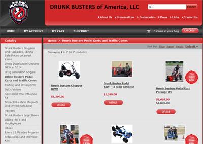 Crime Prevention eCommerce Website