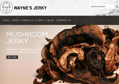 eCommerce Website: Food Industry