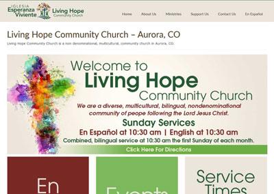 Church Website Redesign