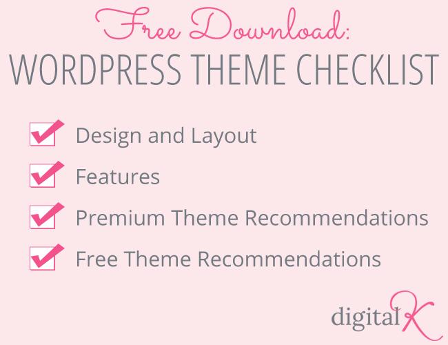 Free Download: WordPress Theme Checklist
