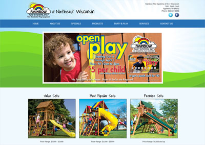 Children's Website Redesign