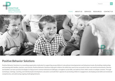 Educational Consulting Website Design