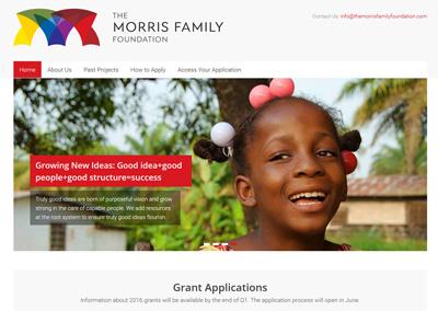 Education Foundation Website Design
