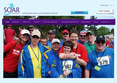 Nonprofit Organization Website Design