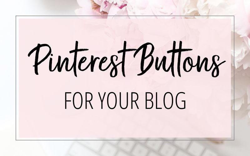 PINTEREST BUTTON FOR YOUR BLOG