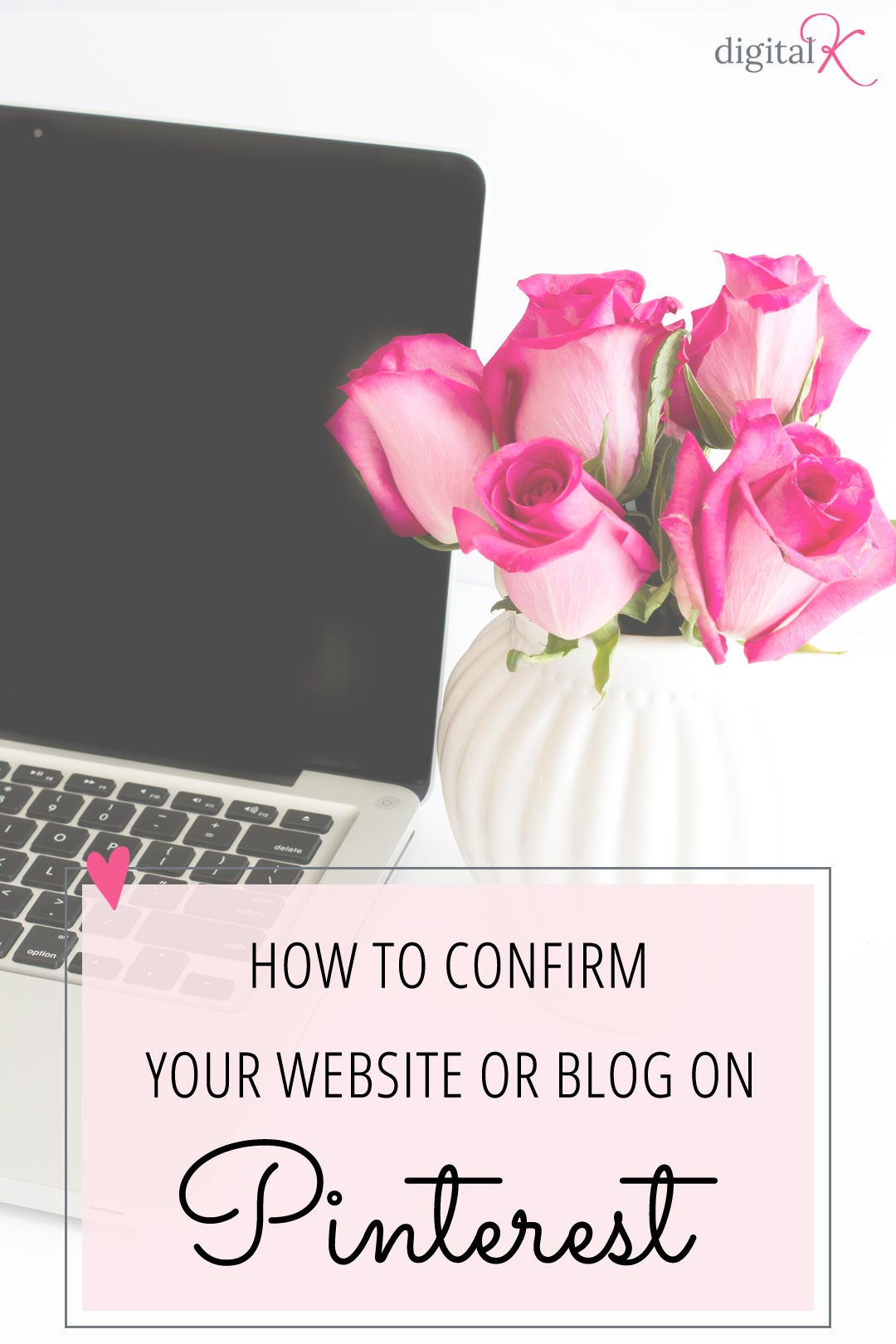 Follow these easy. step-by-step instructions on how to confirm your website on Pinterest - so you get access to Pinterest analytics and better credibility!!
