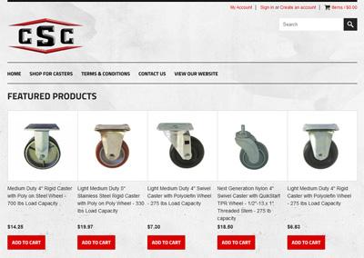 Industrial eCommerce Website