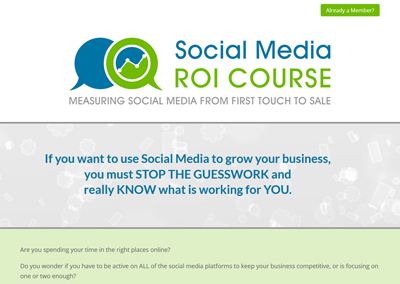 Online Course Website Design