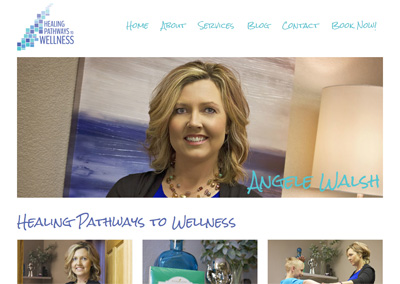 Holistic Healing Coach Website Design