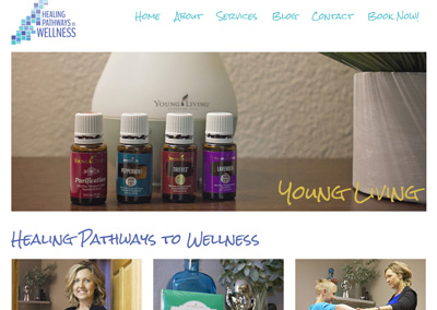 Holistic Healing and Coaching Website Design