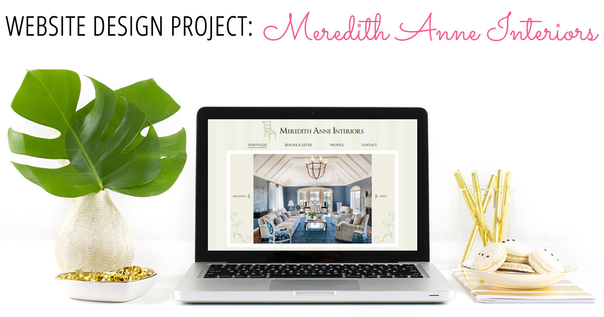 Interior design website for meredith anne interiors for Interior design web site
