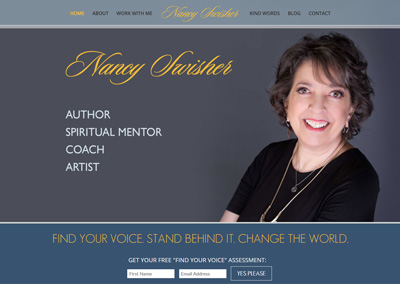 Author and Coach Website Design