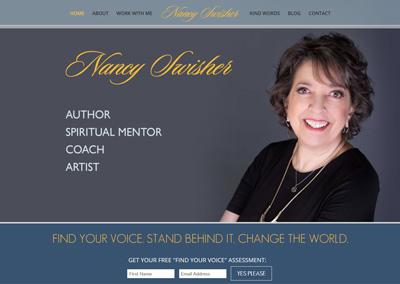 Author and Coach Website Design
