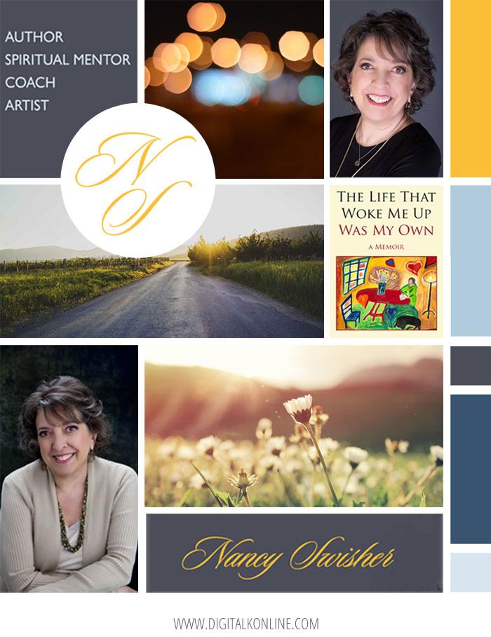 Website Mood Board for Nancy Swisher