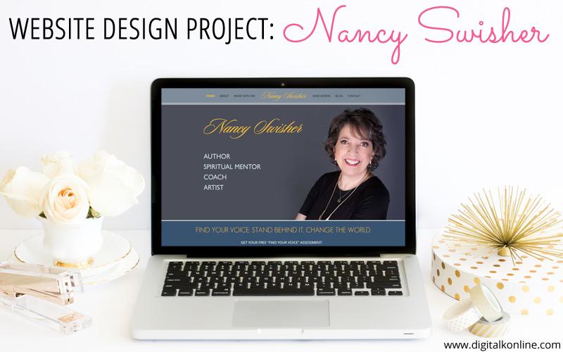 Website Design Project for Nancy Swisher