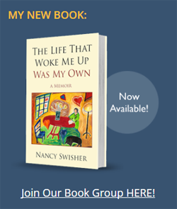 Website goal: feature new book for author Nancy Swisher