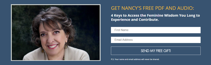 Website opt-in offer: Nancy Swisher