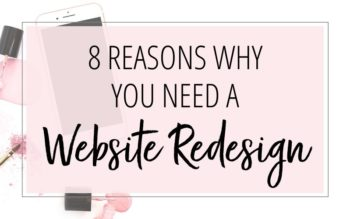 8 Reason Why You Need A Website Redesign