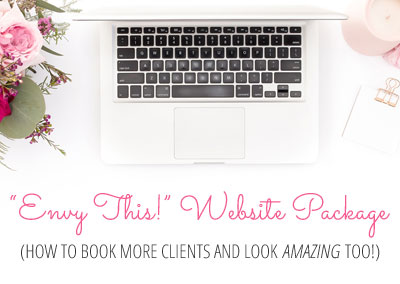Introducing: Envy This Website (How To Book More Clients and Look Amazing Too)
