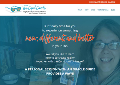Oracle Guide Website Design