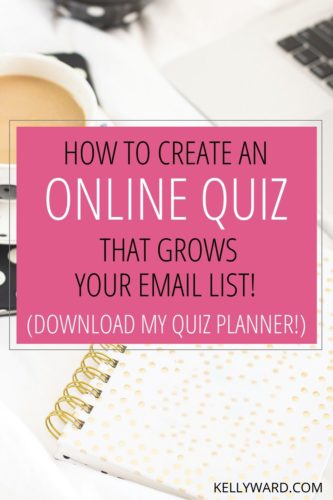 How to Create an Online Quiz that Grows your Email List