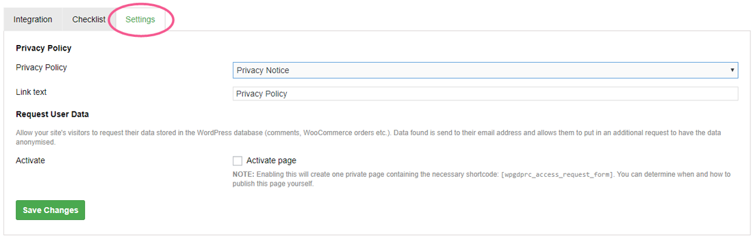 Privacy Policy in GDPR checkbox on WordPress blog comments forms