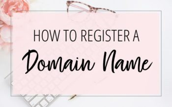 Buying a Website Name (How to Register a Domain Name)